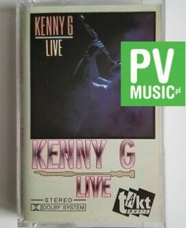 KENNY G LIVE  audio cassette