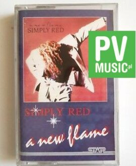 SIMPLY RED A NEW FLAME audio cassette