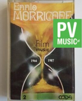 ENNIO MORRICONE FILM MUSIC 1966-1987 audio cassette