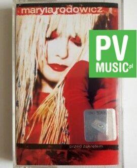 MARYLA RODOWICZ PRZED ZAKRĘTEM  audio cassette