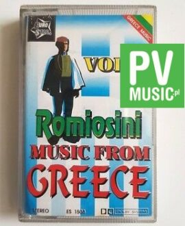 MUSIC FROM GREECE vol.2 audio cassette