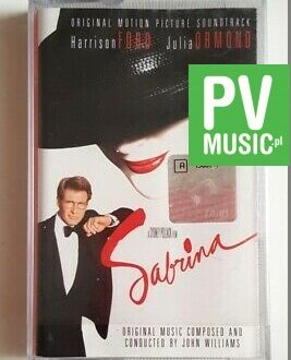SABRINA ORIGINAL MOTION PICTURE SOUNDTRACK audio cassette