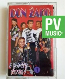 DON ŻAKO & GIPSY ROMA 1 audio cassette