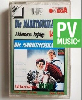 DIE MARKTMUSIKANTEN AKKORDEON ERFOLGE vol.3 audio cassette