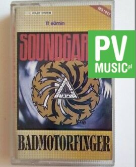 SOUNDGARDEN BADMOTORFINGER audio cassette