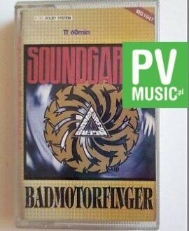 SOUNDGARDEN BADMOTORFINGER audio cassette