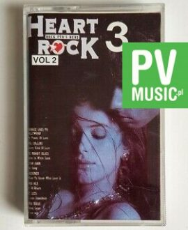HEART ROCK 3 ROXETTE, DR. HOOK.. audio cassette