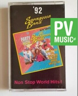 SARAGOSSA BAND '92 NON STOP WORLD HITS! audio cassette