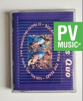 STATUS QUO ROCKIN ALL OVER THE YEARS double album audio cassette