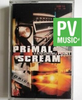 PRIMAL SCREAM VANISHING POINT audio cassette