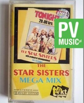 THE STAR SISTERS MEGA MIX audio cassette