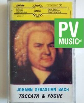 JOHANN SEBASTIAN BACH TOCCATA & FUGUE audio cassette