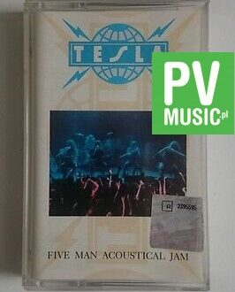 TESLA  FIVE MAN ACOUSTICAL JAM   audio cassette