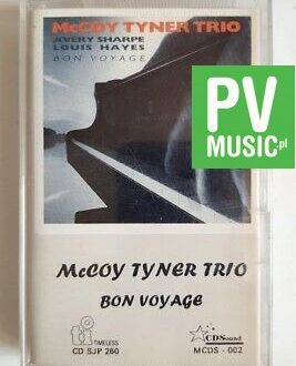 McCOY TYNER TRIO BON VOYAGE audio cassette