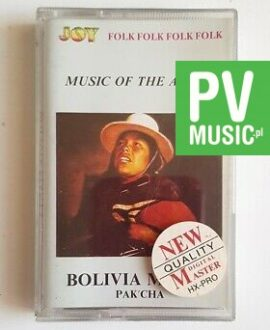 BOLIVIA, PAK'CHA MUSIC OF THE ANDES audio cassette