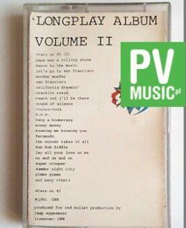 STARS ON 45 LONGPLAY ALBUM audio cassette