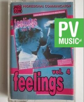 FEELINGS vol.4 BOY GEORGE, ROXETTE.. audio cassette