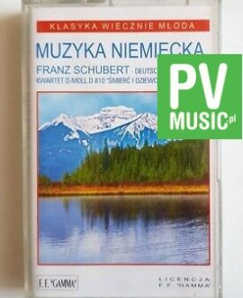 DEUTSCHE MUZIK FRANZ SCHUBERT.. audio cassette