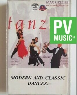 MODERN AND CLASSIC DANCES AMERICANIS, TANGO FERNANDO..  audio cassette