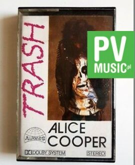 ALICE COOPER TRASH audio cassette