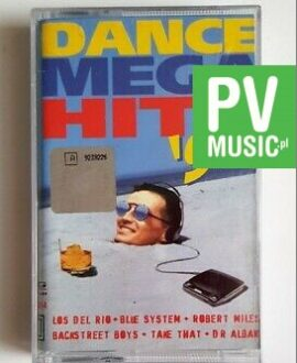 DANCE MEGA HITS '96 BLUE SYSTEM, PETER ANDRE audio cassette