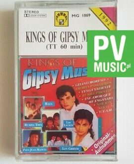 KINGS OF GIPSY MUSIC GITANO MORENO, RAZA.. audio cassette