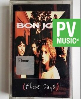 BON JOVI THESE DAYS audio cassette