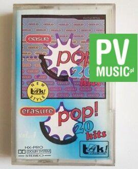 ERASURE 20 POP HITS audio cassette
