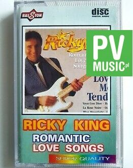 RICKY KING ROMANTIC LOVE SONGS audio cassette