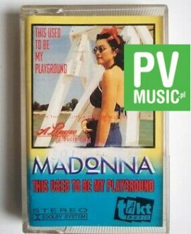 MADONNA THIS USED TO BE MY PLAYGROUND audio cassette
