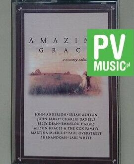 AMAZING GRACE  A COUNTRY SALUTE TO GOSPEL  audio cassette