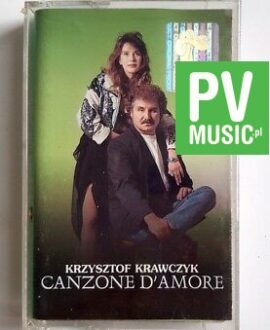 KRZYSZTOF KRAWCZYK CANZONE D'AMORE  audio cassette