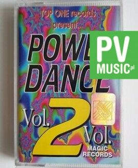 POWER DANCE vol.2 KASIA LESING, TOP ONE.. audio cassette