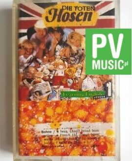 DIE TOTEN HOSEN LEARNING ENGLISH audio cassette