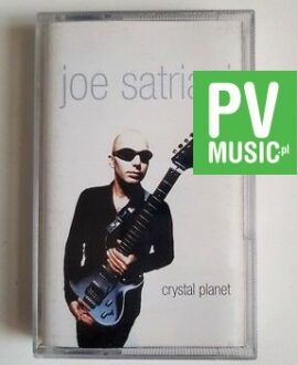 JOE SATRIANI CRYSTAL PLANET audio cassette