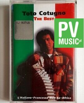 TOTO CUTUGNO THE BEST audio cassette