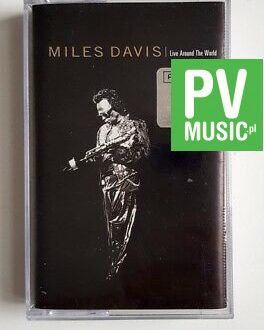 MILES DAVIS LIVE AROUND THE WORLD audio cassette