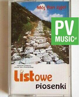 MÓJ PAN ŻYJE LISTOWE PIOSENKI! audio cassette