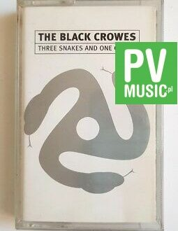 THE BLACK CROWES THREE SNAKES AND ONE CHARM audio cassette