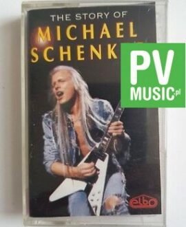 MICHAEL SCHENKER THE STORY OF audio cassette