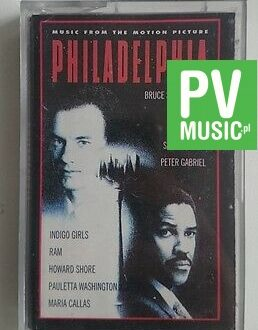 PHILADELPHIA  MUSIC FROM THE MOTION PICTURE   audio cassette