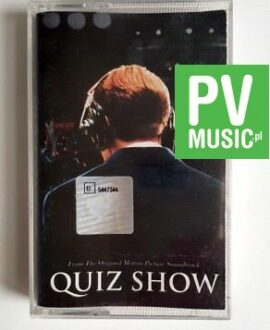QUIZ SHOW SOUNDTRACK audio cassette
