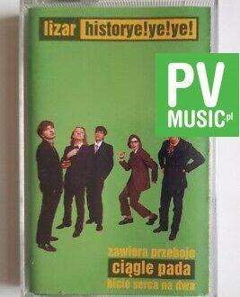 LIZAR HISTORYE!YE!YE! audio cassette