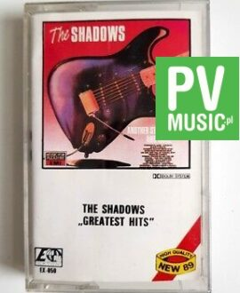 THE SHADOWS GREATEST HITS audio cassette
