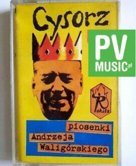 CYSORZ PIOSENKI ANDRZEJA WALIGÓRSKIEGO audio cassette