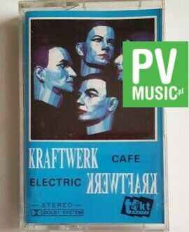KRAFTWERK ELECTRIC CAFE audio cassette
