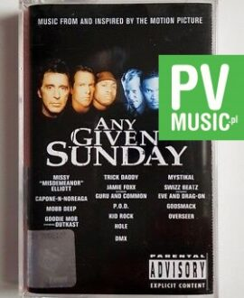 ANY GIVEN SUNDAY MUSIC FROM AND INSPIRED BY THE MOTION PICTURE audio cassette