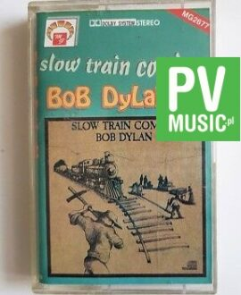 BOB DYLAN SLOW TRAIN COMING audio cassette