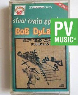 BOB DYLAN SLOW TRAIN COMING audio cassette