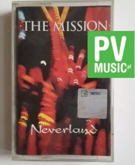 THE MISSION NEVERLAND  audio cassette
